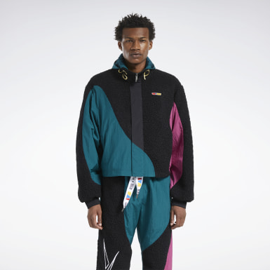 Classics Green Reebok by Pyer Moss Windbreaker