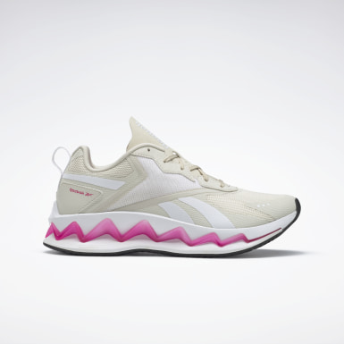 Women Classics White Zig Elusion Energy Shoes