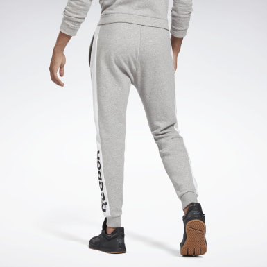Men Fitness & Training Grey Training Essentials Linear Logo Joggers