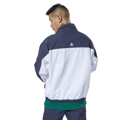 Jersey Meet You There Woven 1/2 Zip Azul Hombre Fitness & Training