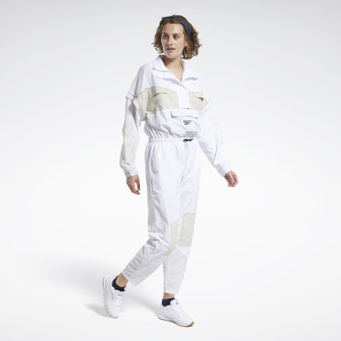 Dames Classics Wit Classics Boilersuit