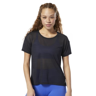 Women Fitness & Training Black WOR ACTIVCHILL Tee