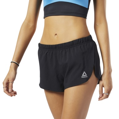 Women Running Black Boston Track Club 3-Inch Shorts