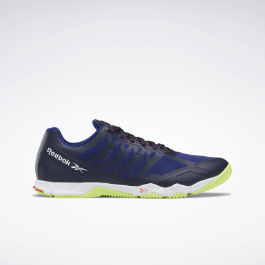 Men Training Blue Reebok Speed Men's Training Shoes