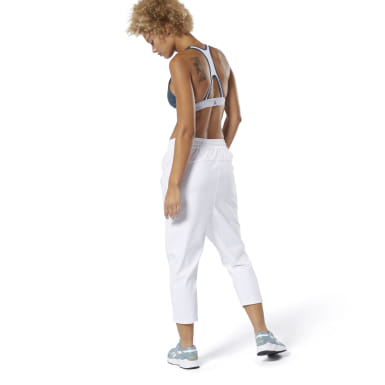 Women Training White Training Supply 7/8 Pants
