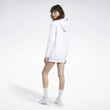Kvinder Classics White Tom and Jerry Hooded Dress