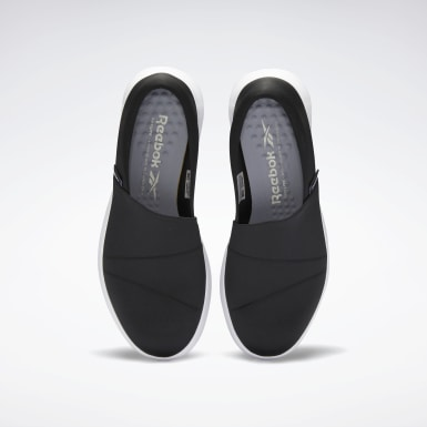 Women Walking Black Reestroll DMX Lite Slip-On Women's Shoes