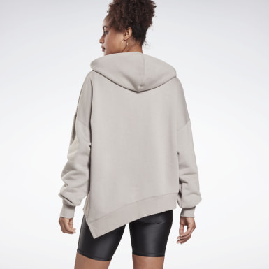 Women Studio Grey Studio Cozy Fashion Hoodie