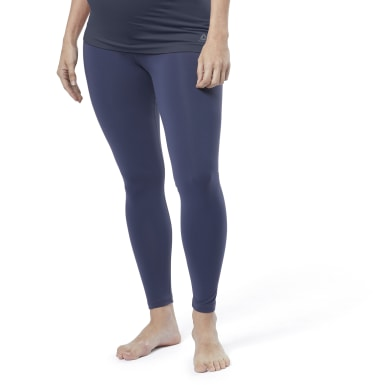 Women Yoga Blue Yoga Lux 2.0 Maternity Tights