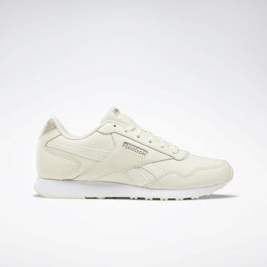 Women Classics Beige Reebok Royal Glide LX Shoes