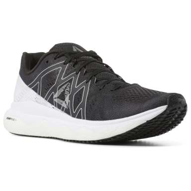 Women Running Black Reebok Floatride Run Fast