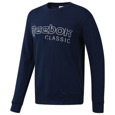 Men Classics Blue Classics Sweatshirt