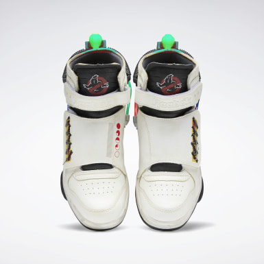 Buty Ghostbusters  Ghost Smashers Bialy