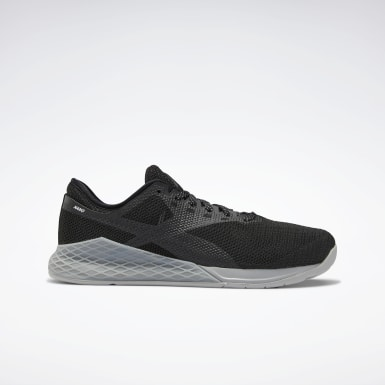 Men Fitness & Training Black Reebok Nano 9 Men's Training Shoes