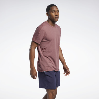 Men Studio Red Les Mills® Pocket T-Shirt