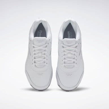 Men Walking White Work N Cushion 4 Extra-Wide Men's Shoes