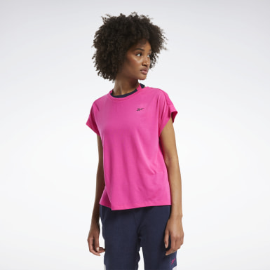 Dames Wandelsport Workout Ready Supremium Detail T-shirt