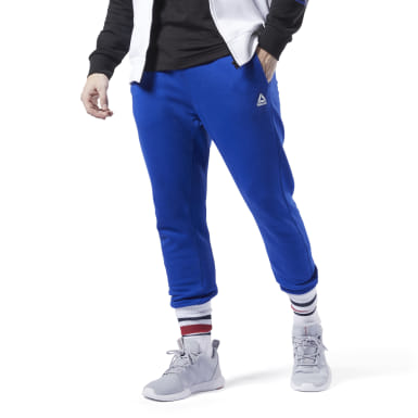 Pantalon de sport avec logo Training Essentials Bleu Hommes Fitness & Training
