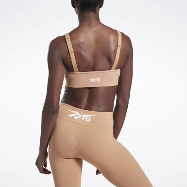 Women Fitness & Training Beige VB Balconette Bra