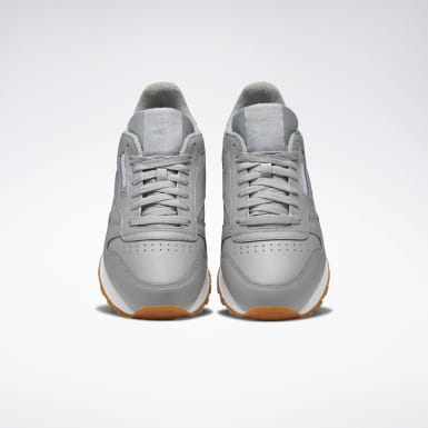 Men Classics Grey Classic Leather Men's Shoes