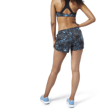 "Shorts Running Essentials - 4"" Azul Mujer Running"