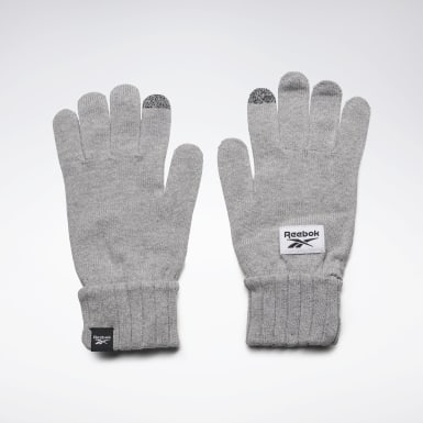 Guantes de punto Active Foundation Gris Fitness & Training