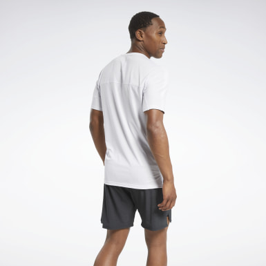 Mænd Cycling White ACTIVCHILL Graphic Move Tee