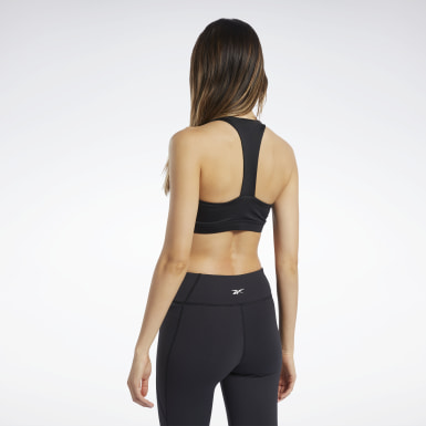 Kvinder Cycling Black Workout Ready Medium-Impact Bra