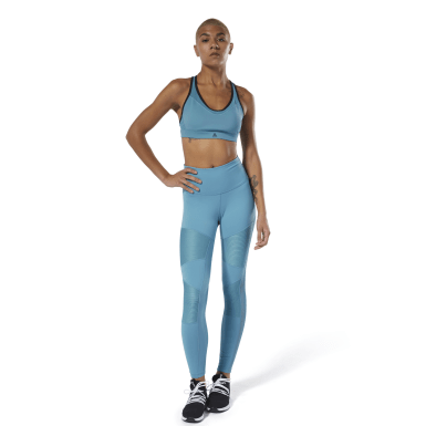 Mallas Cardio Lux High-Rise Gris Mujer Dance