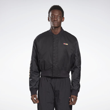 Casaca bomber by Pyer Moss MA-1 Negro Classics