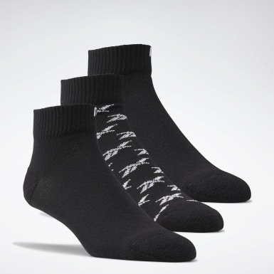 CL FO Ankle Sock 3P Negro Classics