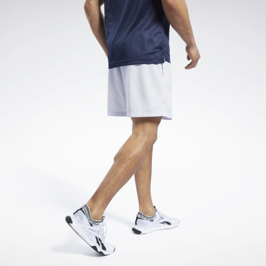 Cross Training White Woven Shorts
