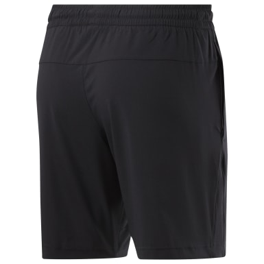 Men Training Black Workout Ready Shorts