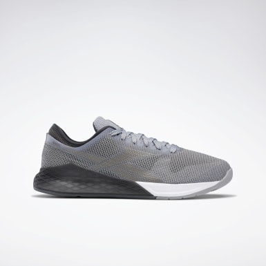 Men Fitness & Training Grey Reebok Nano 9 Men's Training Shoes