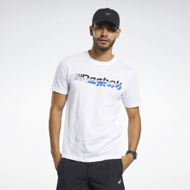T-shirt Meet You There Bianco Uomo Fitness & Training