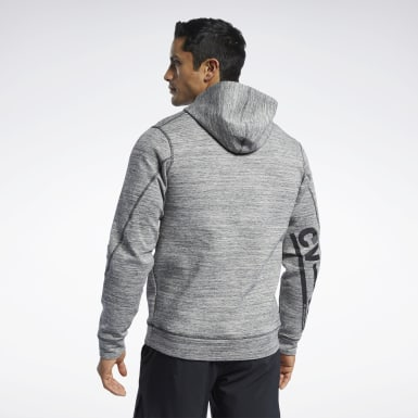 Men Training Black CrossFit® CVFM Hoodie