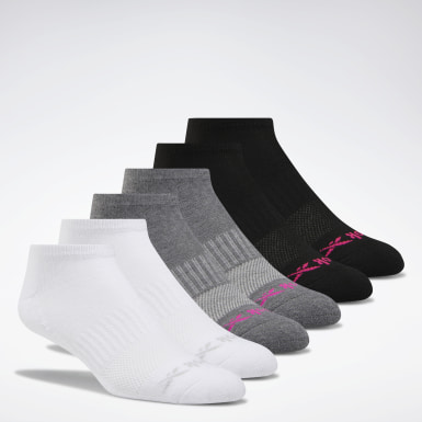 Low-Cut Basic Delta Socks Six Pack