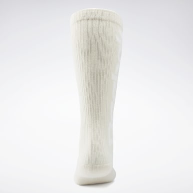 Women Classics White VB Basketball Socks