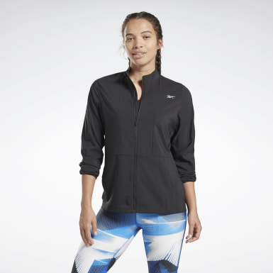 Frauen Running Running Essentials Wind Jacket Schwarz