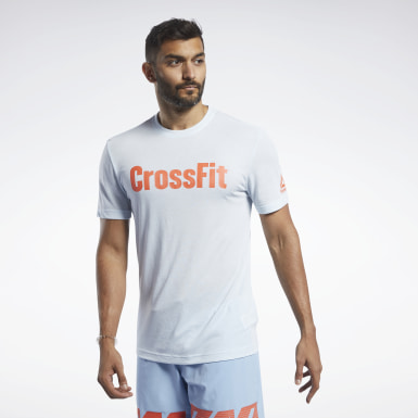 Herr Cross Training Blå Reebok CrossFit® Read Tee