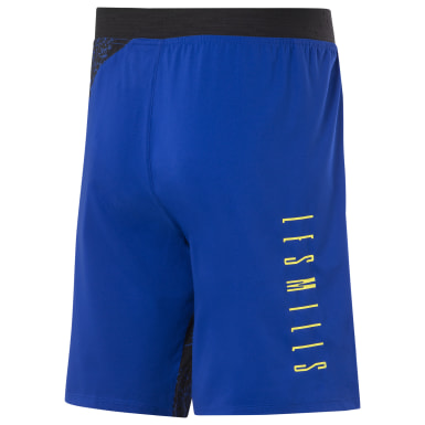 Men Studio Blue LES MILLS® Epic 9-Inch Lightweight Shorts