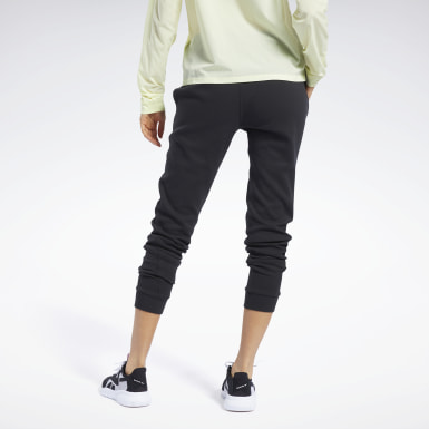 Dames Fitness & Training Zwart QUIK Cotton Broek
