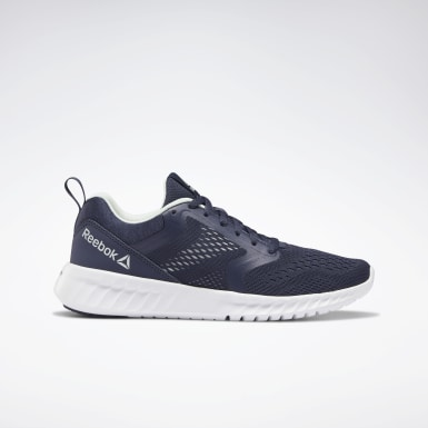 Women Running Blue Reebok Sublite Prime Shoes