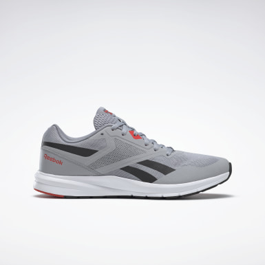 Men Running Grey Reebok Runner 4 Men's Running Shoes