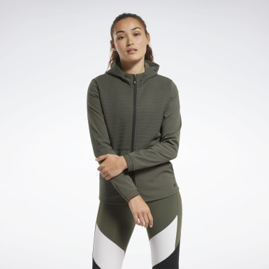 зеленый Худи Thermowarm Deltapeak Full-Zip