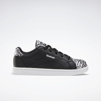 Kids Classics Black Reebok Royal Complete Clean 2.0 Shoes