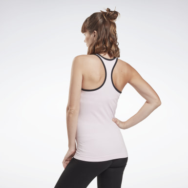 Women Studio Pink Studio Maternity Tank Top