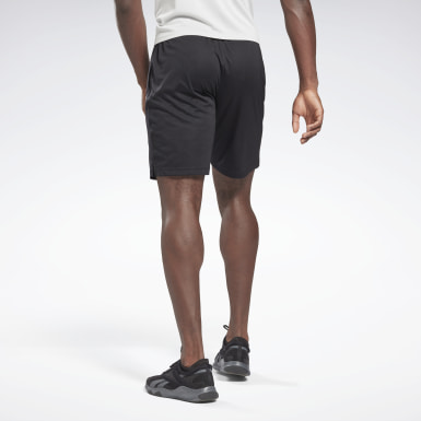Men Fitness & Training Black Workout Ready Activchill Shorts