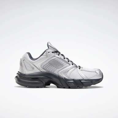 Women Classics Silver Reebok Premier Women's Shoes