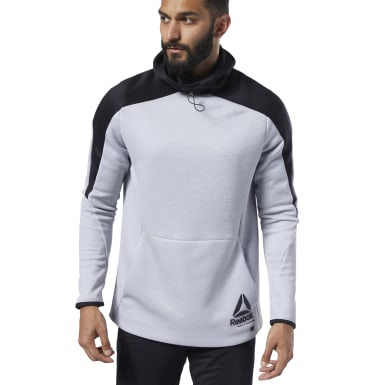 Blusa com Capuz One Series Training Spacer Cinza Homem Fitness & Training
